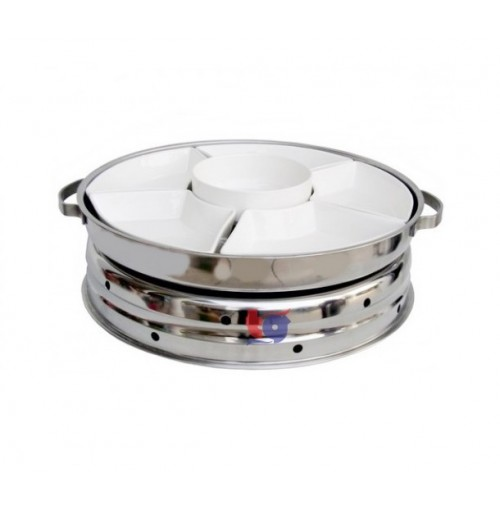 DOME (PORCELAINWARE) CHAFING DISH