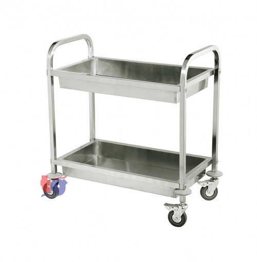 S/S 2 TIER TROLLY