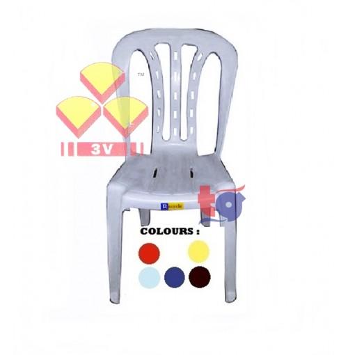 3V PLASTIC CHAIR RY ( GRADE B )
