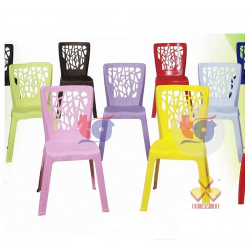 3V PLASTIC DINING CHAIR ( A)