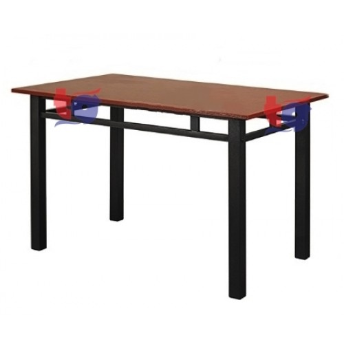 CAFE TABLE / KOPITIAM TABLE ( RUBBERWOOD ) 2.5 x 4.5FT