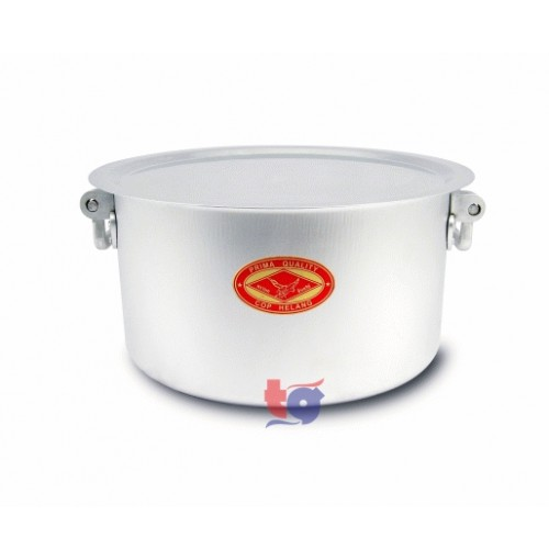 ALUMINIUM BIG DEGHI POT ( DOUBLE HANDLE )