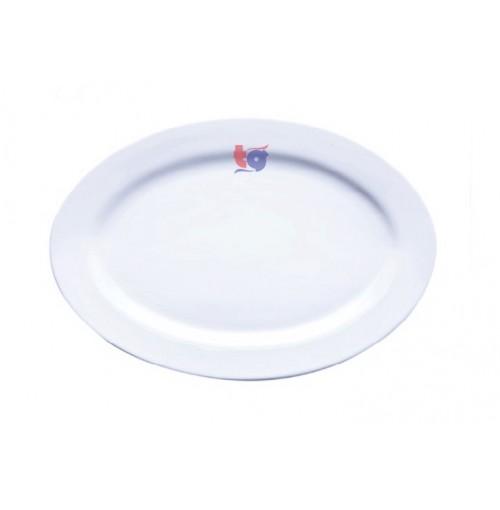 160-065  OVAL PLATE